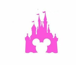 Castle Svg, Minnie Mouse Svg, Monogram Svg, Princess Svg, Magic Kingdom Svg, Cricut Svg, Silhouette Svg, Svg Files, Cut Files