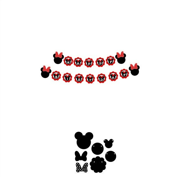 Minnie Mouse Banner Svg Banner Svg Disney Svg Minnie Mouse