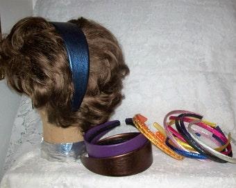 Vintage 1980s Ladies Headbands Hair Accessories Bakers Dozen Just 5 USD