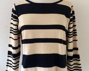 Knit Stripe Shirt