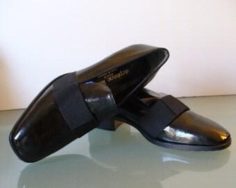 Stephane Kelian Paris Patent Leather  Flats Size 8.5US