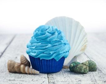Beach Babe Bath Cupcake . Bath Cupcake . Bath Bomb . Bubble Bath . Ocean