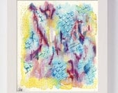Abstract Original Painting / Abstract Art / Colourful Modern Art