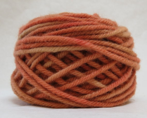 YAM, 100% Wool, 2 oz. 43 yards, 4-Ply, Bulky weight or 3-ply Worsted weight yarn, already wound into cakes, ready to use, made to order.