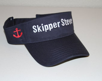 Personalized Visor Made to Order