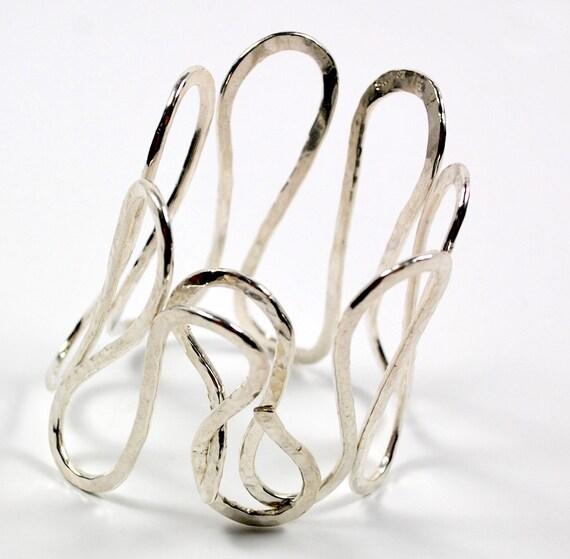 Cuff Bracelet - Sterling Silver Cuff Bracelet