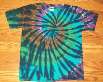 S M L Xl 2x 3x 4x 5x 6x- Dark Forest Tie Dye, Kids, Adult, Plus Size Tie Dye