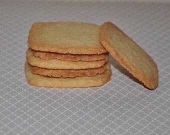 Edible Gift Shortbread Cookies Brown Sugar Vanilla Bean Birthday Holiday 15