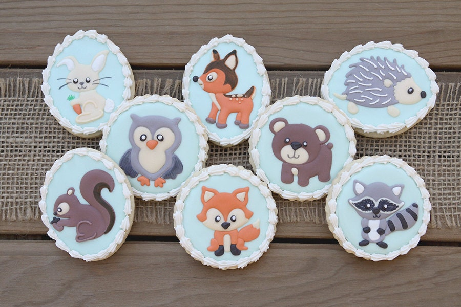 baby woodland animal favors baby woodland by guiltyconfections