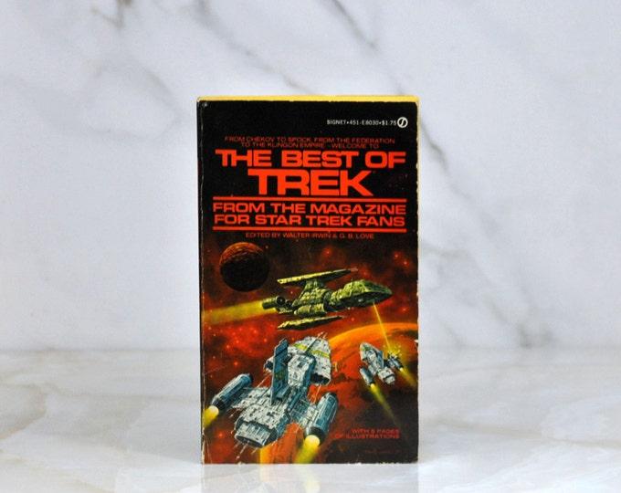 Vintage Star Trek The Best Of Star Trek Volume 1 From The Magazine For Star Trek Fans - 1978 -  Paperback - Science Fiction - Roddenberry