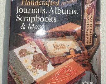 Handcrafted Journals, Albums, Scrapbooks & More By Marie Browning - Hardback Cover