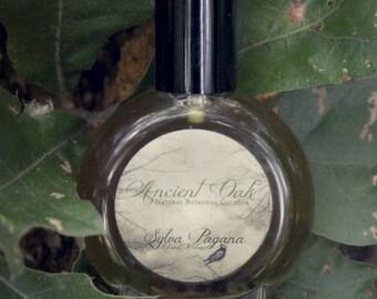Natural perfume - oak wood moss tobacco rosewood vanilla - ANCIENT OAK - you choose size