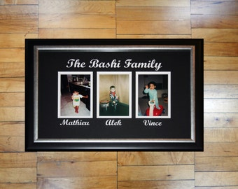 Custom Personalized Family Photo Frame