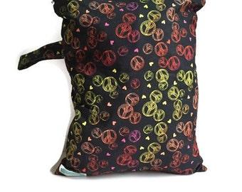 Wet Bag for Cloth Diaper, Cloth Diaper Wet Bag, Large Wet Bag, Wet Bag for Cloth Pads