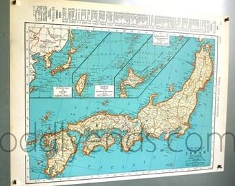 1939 Japan Atlas Map