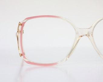 Vintage Pearl Pink Eyeglass Frames