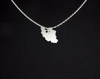 Iran Necklace - Iran Jewelry - Iran Gift