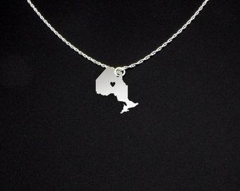 Ontario Necklace - Ontario Gift - Ontario Jewelry