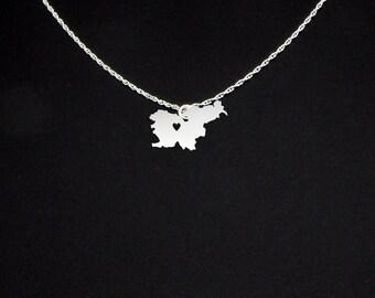 Slovenia Necklace - Slovenia Jewelry - Slovenia Gift