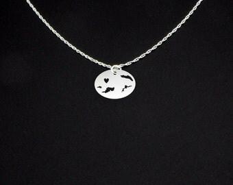 Virgin Islands (British) Necklace - Virgin Islands Jewelry - Virgin Islands Gift