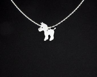 Donkey Necklace - Donkey Jewelry - Donkey Gift