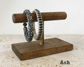 Wood Jewelry Display, Bracelet Display 4-inch, Bracelet Stand, Bracelet Holder, Choose the Color