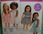 American Girl Simplicity Pattern S0172 ~ New  Sew 4 Outfits