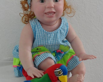 "Reborn 25"" Big Toddler Girl Doll ""Amelia"" by Rubert Sculpt -w.Torso +full limbs! LAST ONE!"