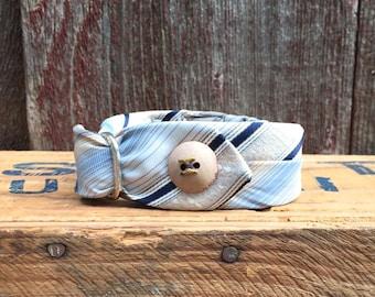 Vintage Tie Collar - Button-Down - Small