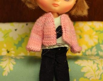 Middie Blythe cardigan. Pink.