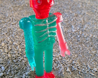 SEA-BORG MUTATION  Wave 2 Plastic Resin Figure - green/pink/orange
