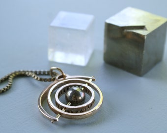 Gyroscope 3.0 - Pyrite