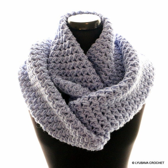 Crochet Round Scarf Patterns