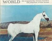 Vintage Arabian Horse World Magazine, Back Issue November 1970
