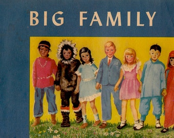 Big Family by Alice Geer Kelsey, illustrated by Mary Field Terrel