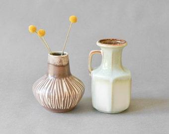 Mid-Century Vase Collection, 497-18 60er Jahre Keramik Scheurich