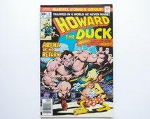 "Howard the Duck Vol. 1 #5 - ""I Want Mo-o-oney!"" - Marvel Comics - NM"