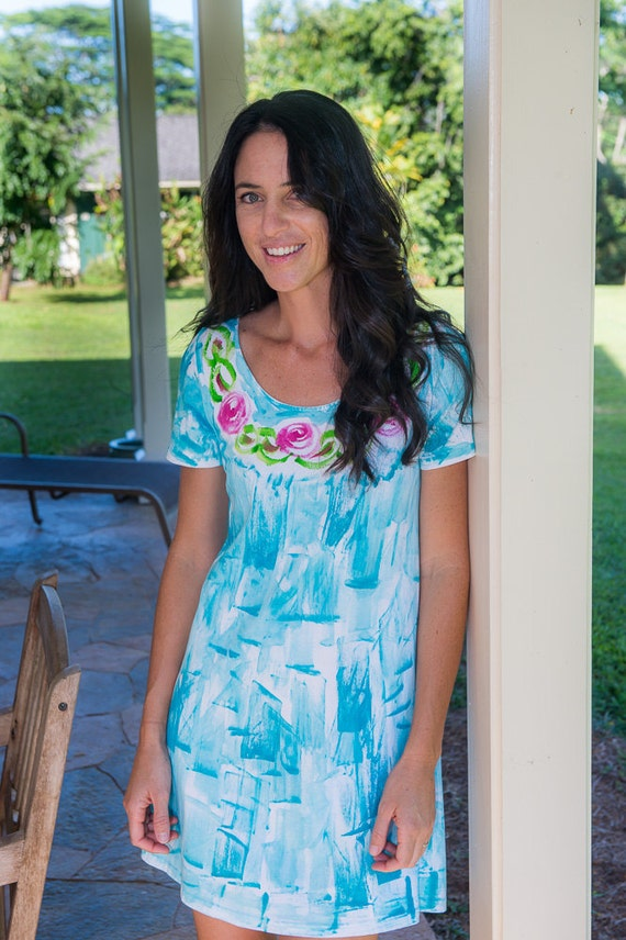 Beach Dress Resort Wear Womens Clothing Hawaiian Dress