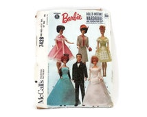Barbie Pattern #7428 Doll's Instant Wardrobe and Tuxedo for Ken by Mattel McCalls