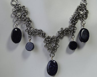 Chainmaille Necklace P7