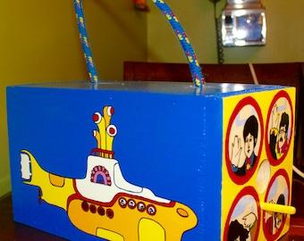 The Beatles Yellow Submarine Birdhouse