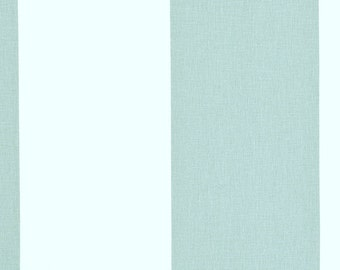 1 yard Kaitlin Snowy Blue White Vertical Stripes -  Home Decor Fabric - Premier Prints  - Pale Blue White