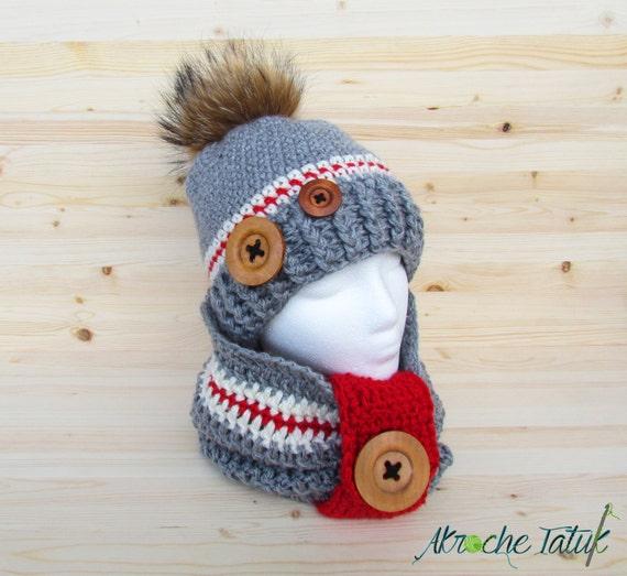 ensemble style bas de laine tuque bonnet cache cou par. Black Bedroom Furniture Sets. Home Design Ideas