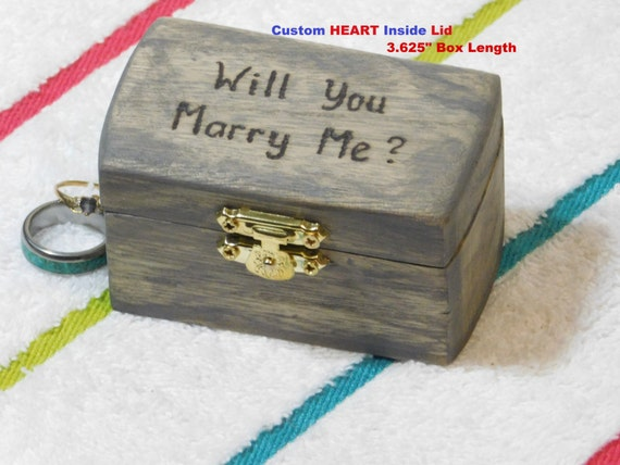 proposal ring box will you marry me wedding ring box
