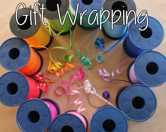 Gift Wrapping - Addon to purchased item only