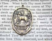 Agnus Dei - Christ Is Risen - Resurrection - Lamb of God - Medal - Bronze or Sterling Silver - Religious Medal - Catholic Medal (M-1306)