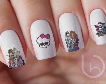 View Movie Nail Decal By Vitabellovogue On Etsy