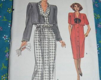 Vogue 9371  Misses Dress Sewing Pattern - UNCUT - Sizes 6 8 10