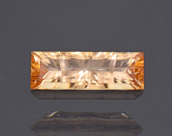Pretty Orange Imperial Topaz Gemstone from Brazil 1.58 cts.