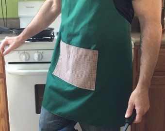 Reversible apron/adjustable apron